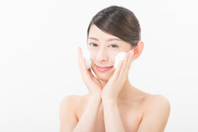 洗顔は細かな泡立てが重要!